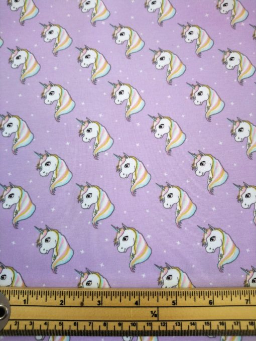 lilac t shirt unicorn print jersey