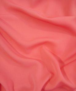 coral premium dress fabric