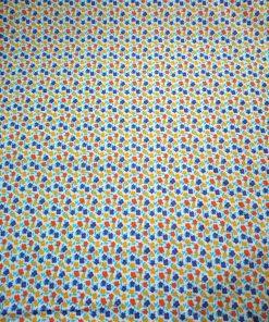 ditsy print cotton poplin