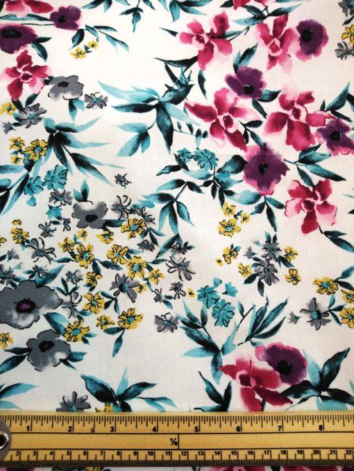 watercolour cotton lawn