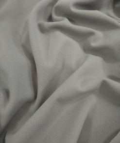 Grey spandex crepe