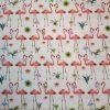 flamingo cotton print