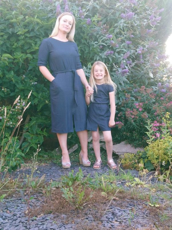 leila dress pattern hack
