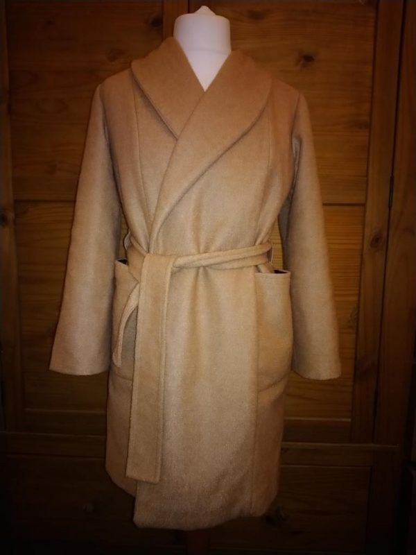 camel wool coat
